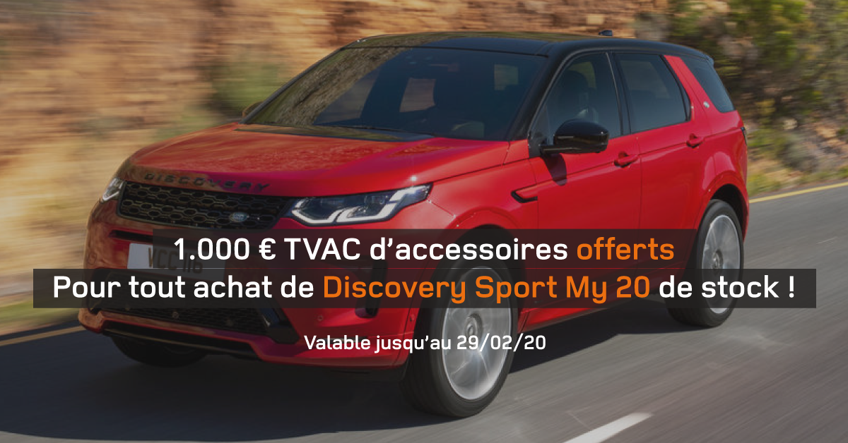 Février : Action Discovery Sport