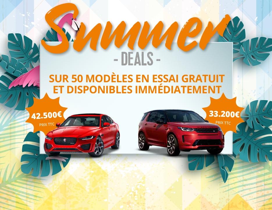 Cet été, profitez de nos Summer Deals !