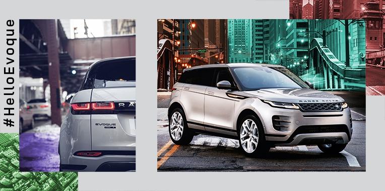 Découvrez le nouveau Range Rover Evoque