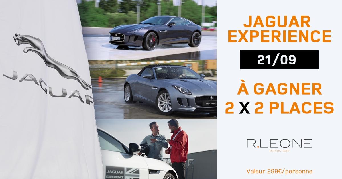 Participez à notre concours Jaguar Experience !