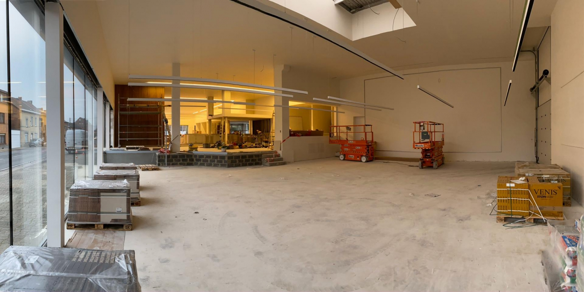 Finalisation des travaux au Garage R. Leone