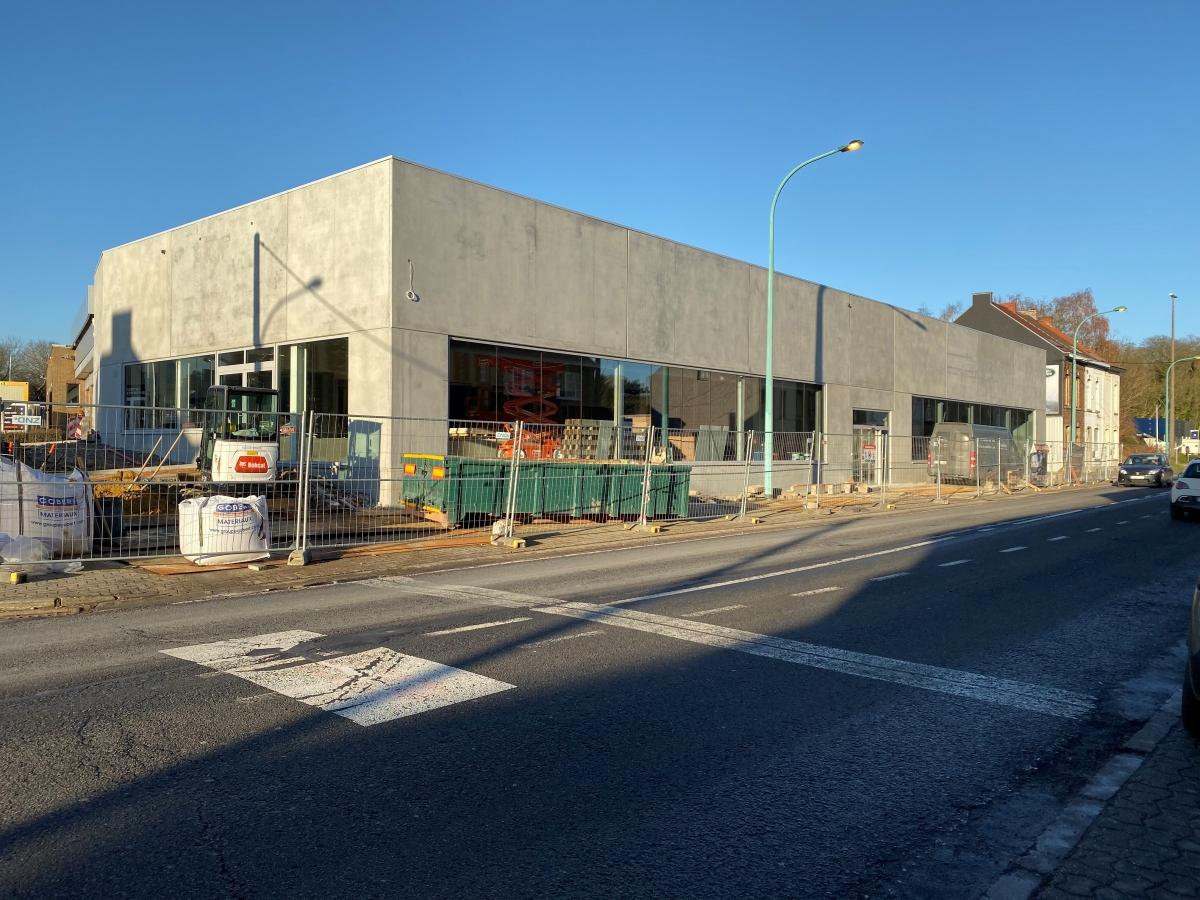Garage R. Leone : un point sur l'avancement des travaux